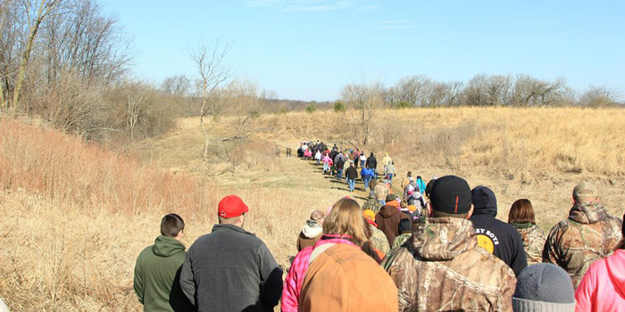 Hike with the West Central Illinois Branch Quality Deer Management Association